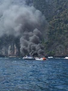 На Пхукете взорвался катер с пассажирами, 1 погиб
