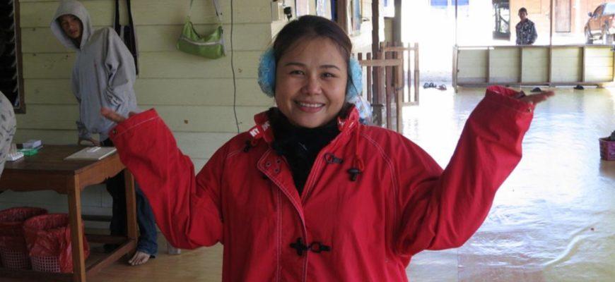 Похолодание в Таиланде 13 и 14 января