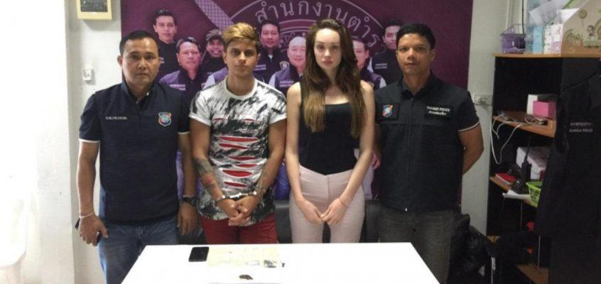 Российско-украинская пара арестована за продажу наркотиков в Таиланде