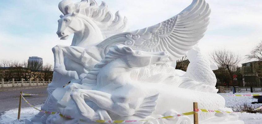 Таиланд выиграл в конкурсе ледяных скульптур