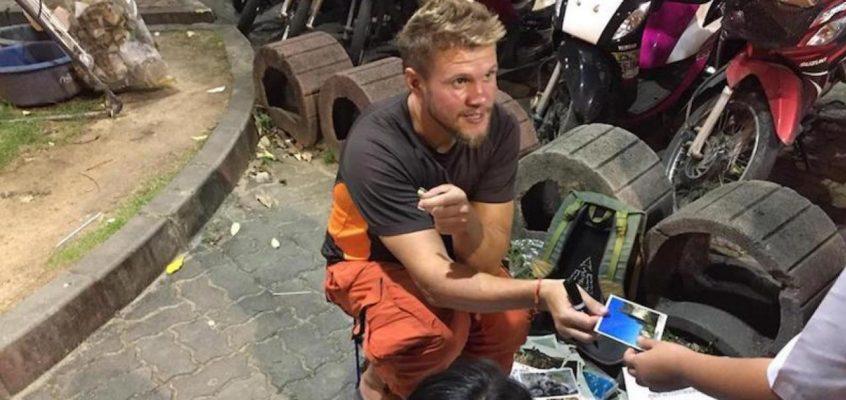 Украинец торгует фотографиями в Таиланде, чтобы вернуться домой (ВИДЕО)