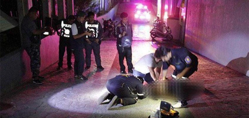 Обнаженная женщина выпала из окна Cozy Beach Condominium в Паттайе