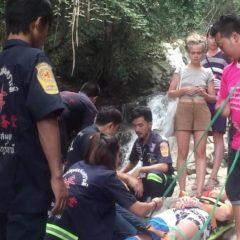 Россиянин Евгений Бабонов упал со скалы в Таиланде
