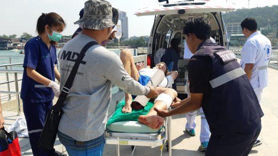 Россиянин прострелил себе ногу в Паттайе