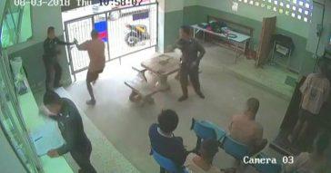 Дерзкий побег из тюрьмы в Таиланде