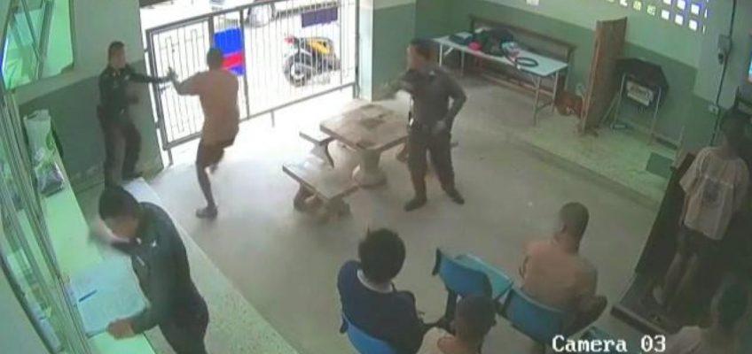 Дерзкий побег из тюрьмы в Таиланде (ВИДЕО)