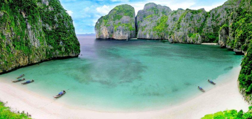 Пляж из фильма Пляж в Таиланде закрывают для посещения