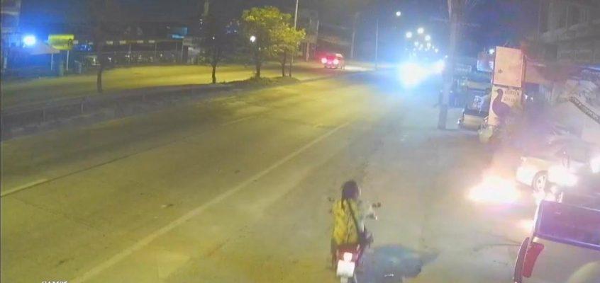 Поджигатель машин в Паттайе (ВИДЕО)