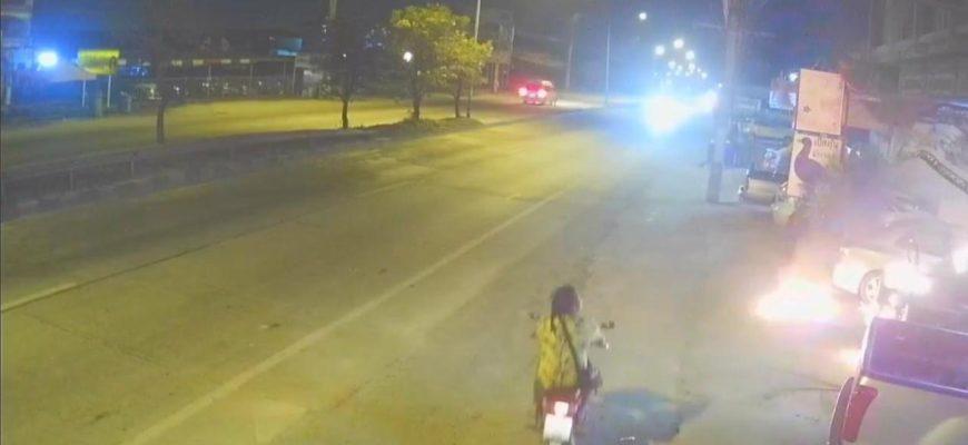 Поджигатель машин в Паттайе