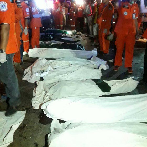 Страшные аварии на дорогах в Таиланде