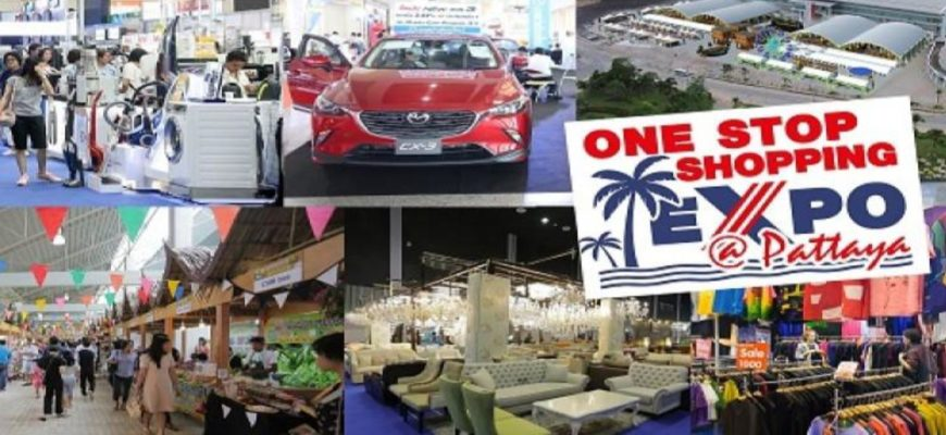 Большая торговая ярмарка One Stop Shopping Expo Pattaya