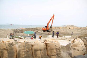 Реновация центрального пляжа в Паттайе