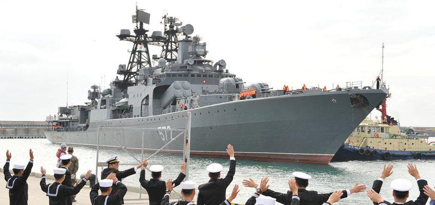 Российские корабли в Таиланде приглашают на экскурсию