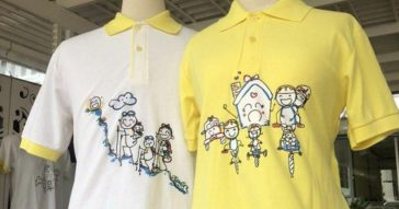 В Таиланде началась продажа желтых рубашек с рисунком от Короля