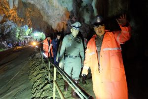 В Таиланде продолжаются поиски пропавших в пещере детей