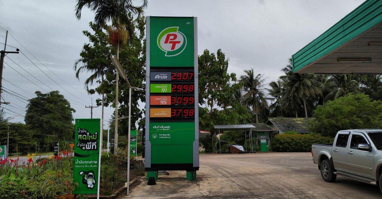 Сколько стоит бензин на заправках тайланда? ТайТуризм