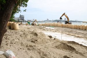 Центральный пляж Паттайи будет расширен на 400 метров