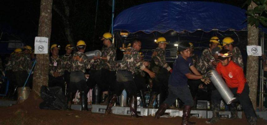 В Таиланде срочно нужны дайверы-спасатели