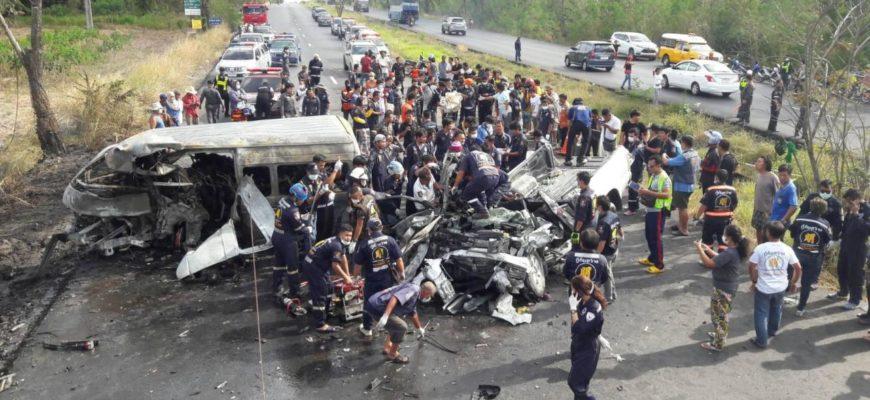 Аварии в Таиланде - почти 11 тысяч погибших в этом году