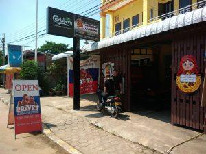 Где поесть русской еды в Лаосе - ресторан Привет во Вьентьяне