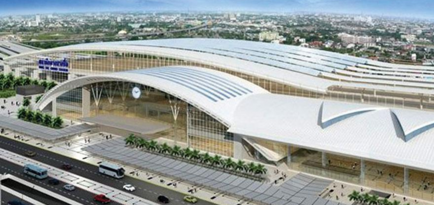 Новый железнодорожный вокзал Бангкока Bang Sue Grand Station