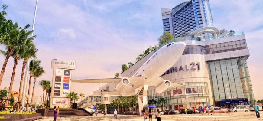 Терминал 21 в Паттайе - открытие нового торгового комплекса