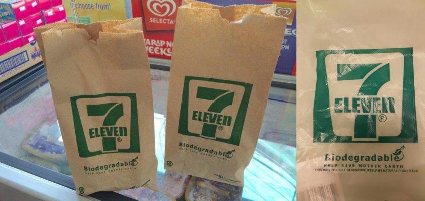 Магазины 711 в Таиланде отказались от пластиковых пакетов