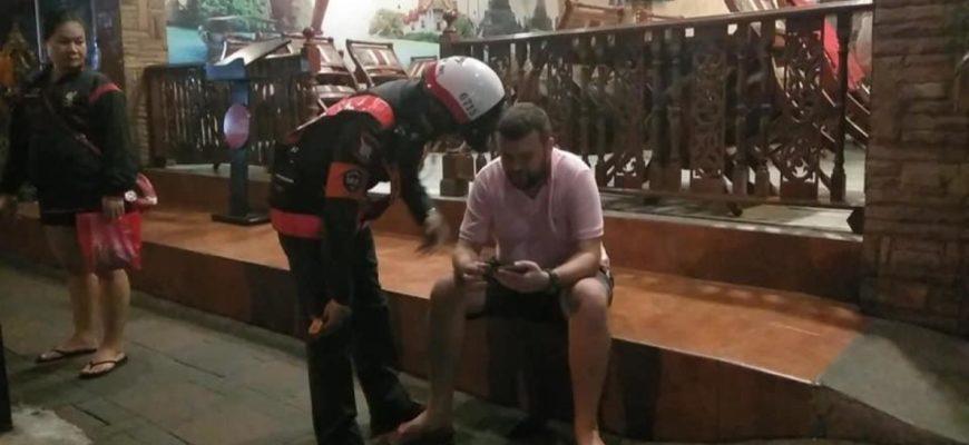 Пьяный россиянин сбил мотоциклиста в Паттайе и хотел сбежать