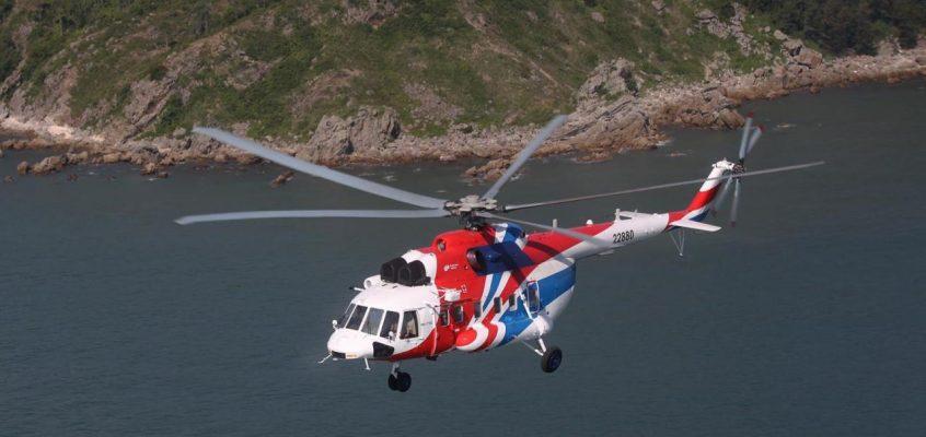 Российские вертолеты в Таиланде