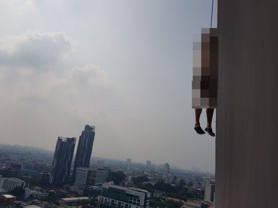 Шок в Паттайе старик повесился на цоколе здания