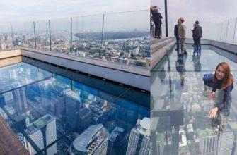 В Бангкоке открылся бар со стеклянным полом на 78 этаж