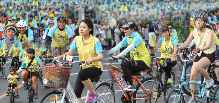 В Таиланде возобновляют акцию «Велосипед для папы»
