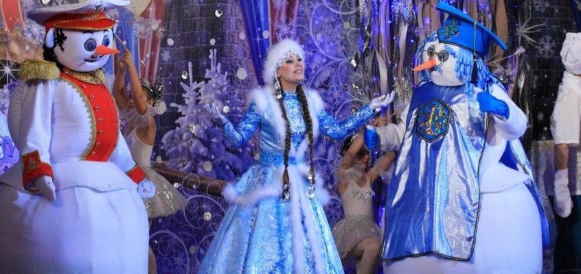 Детская новогодняя ёлка в Паттайе 2019