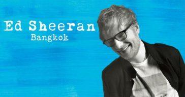 Эд Ширан в Бангкоке