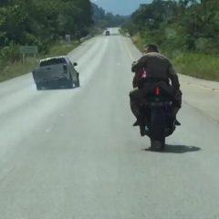 Полицейская погоня со стрельбой в Таиланде