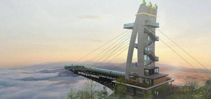 Самая длинная в Азии прогулочная площадка в небе будет построена в южном Таиланде