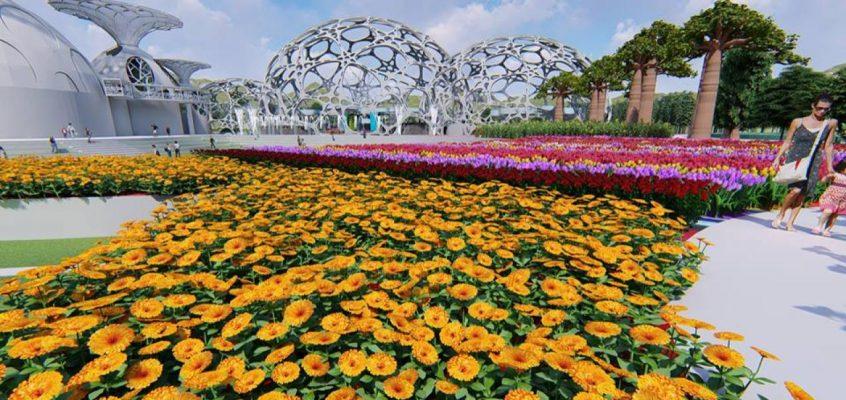 Цветочный парк Flower Land в Паттайе