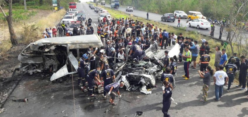 уровень смертности на 100'000 человек в Таиланде составляет 32,7
