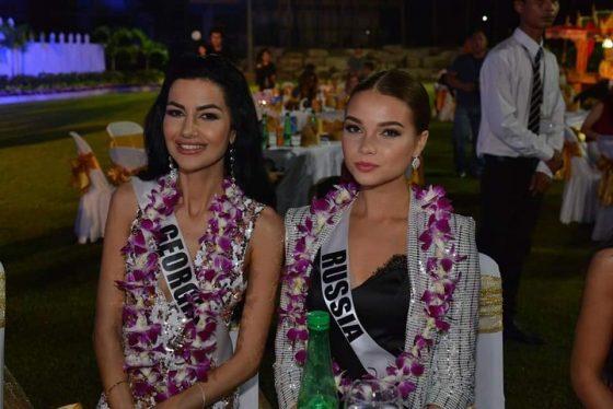 Участницы конкурса Miss Universe 2018 приехали в Паттайю