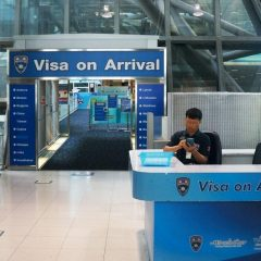 Отмена визы по прибытию в Таиланд продлена до конца апреля 2019 года