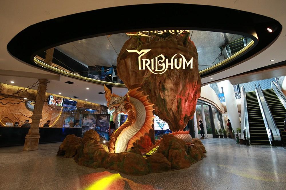 3D-парк Tribhum на Пхукете