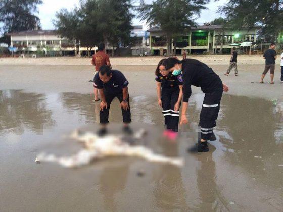 Два обезглавленных тела нашли на пляже возле Паттайи