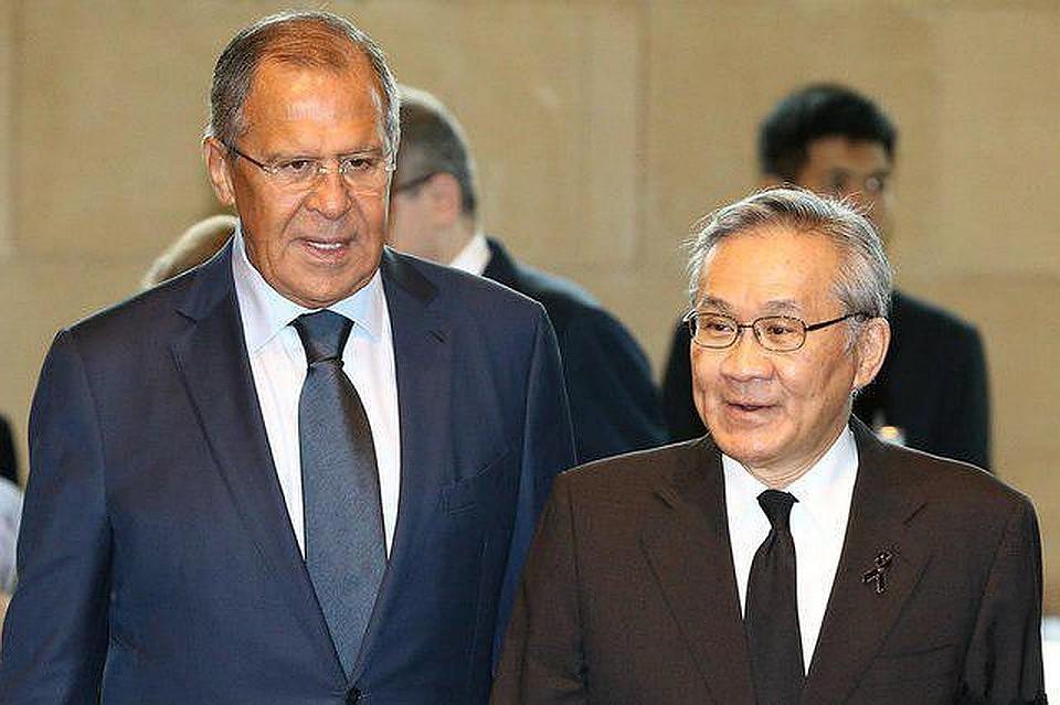 Министр из Таиланда приехал в Москву, чтобы встретиться с Лавровым