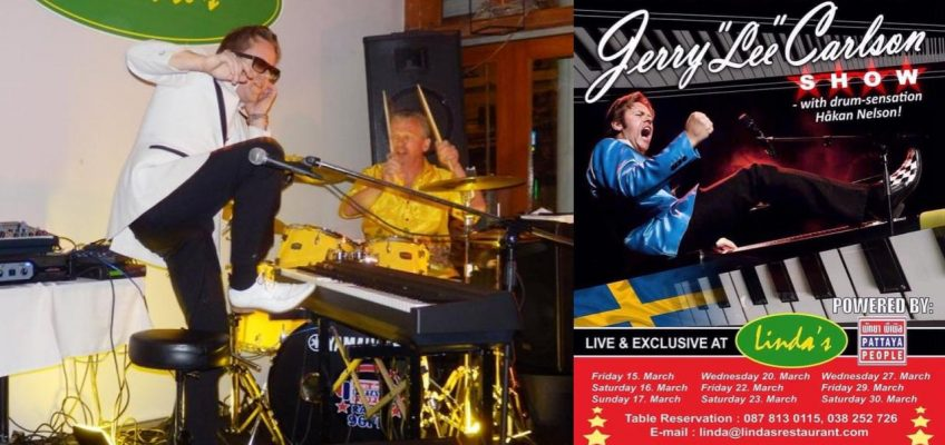 Легендарный рок пианист даёт живые концерты в Паттайе