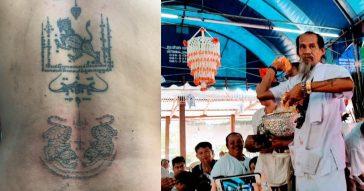 Татуировки Сак Янт - как все происходит на самом деле