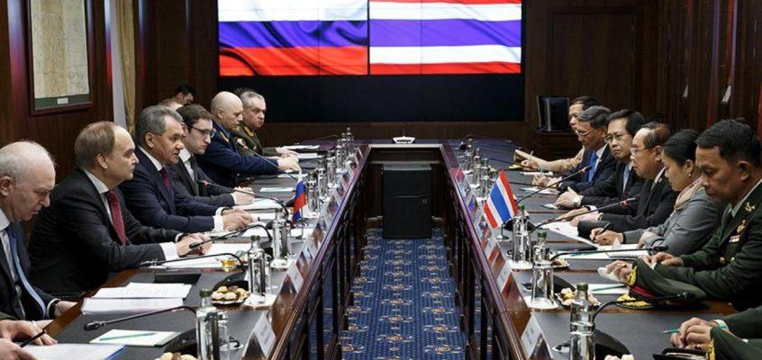 Товарооборот России и Таиланда