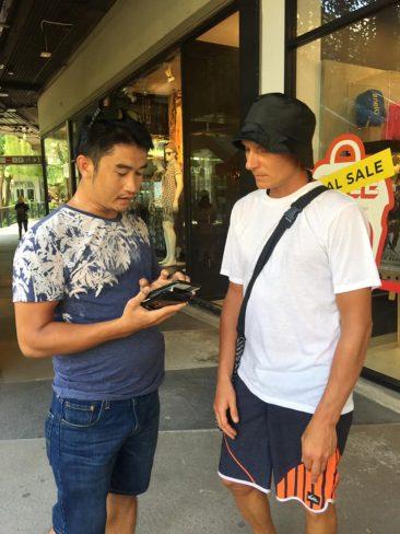 Турист из России украл видеокамеру в Таиланде