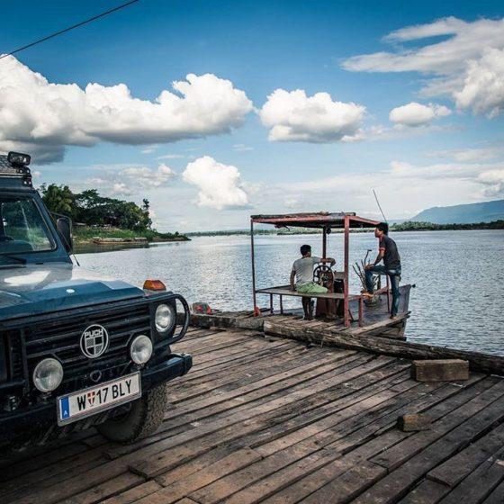 Кругосветное путешествие на автомобиле с заездом в Таиланд