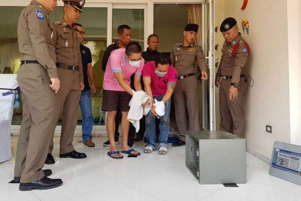 В Паттайе воры обокрали дом и уничтожили записи камер видеонаблюдения
