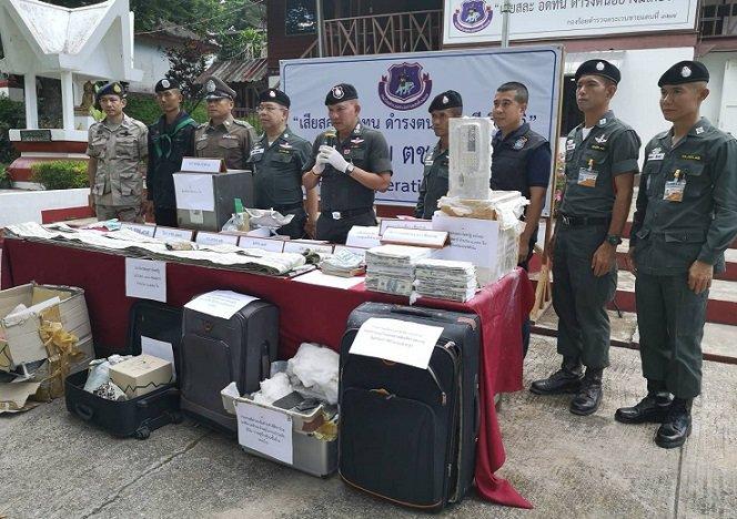 30 миллионов фальшивых долларов хотели продать в Таиланде